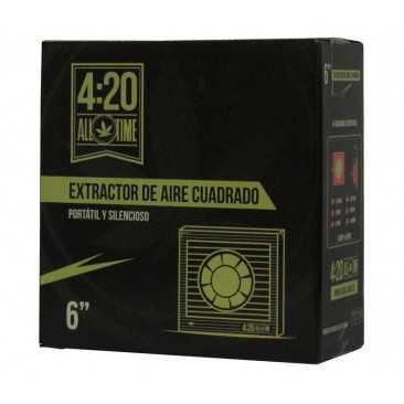 "Extractor 6"" (150mm) Cuadrado - 4:20 All Time - 1"