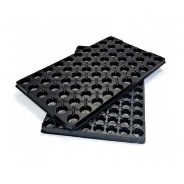 Bandeja Plastico Jiffy Vacía 33 mm 104 Alvéolos - 1