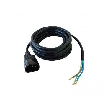 Cable IEC para Balastro Macho (3mts X 0,75mm) - 1