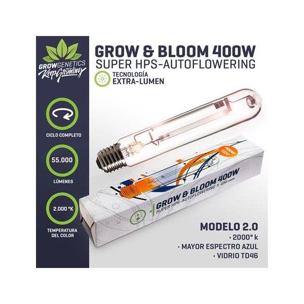Ampolleta 400W Dual (Grow & Bloom) - Grow Genetics - 1