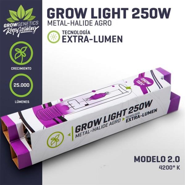 Ampolleta 250W MH Extra Lumen - Grow Genetics - 1