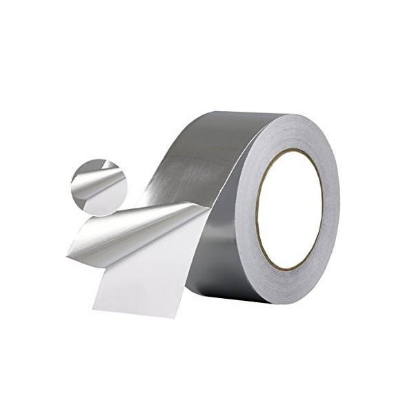 Cinta Adhesiva Aluminio 50mm x 50m - 1