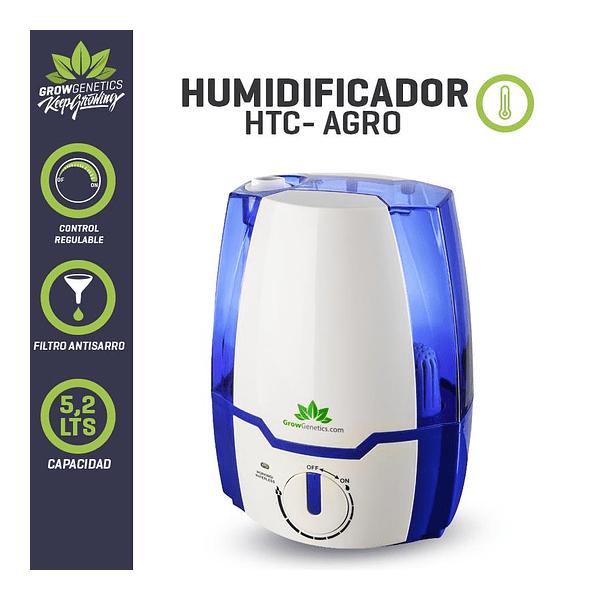 Humidificador Ultrasónico 5,2L - Grow Genetics - 1