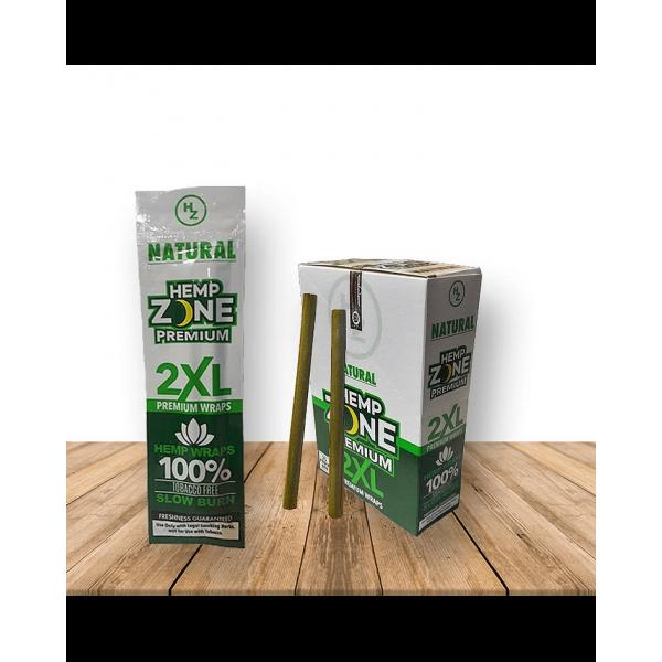 Blunt Natural (x2) - Hemp Zone - 1