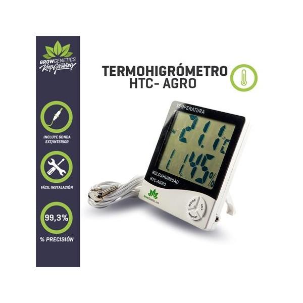 Termohigrometro HCT-AGRO - Grow Genetics - 1