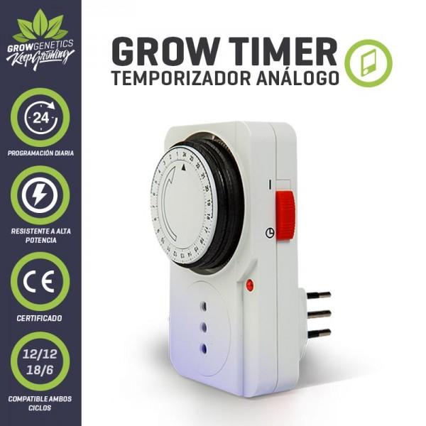 Temporizador Análogo - Grow Genetics - 1