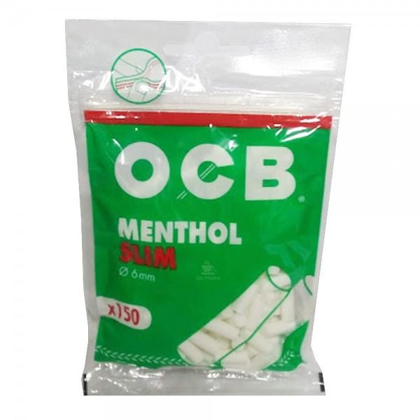 Filtro Slim Mentolado (150 Uds) - OCB - 1