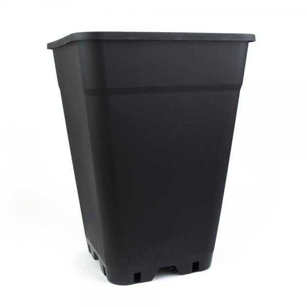 Maceta Elevada Cuadrada 18L (26x26x37,5cms) - Trabe - 1