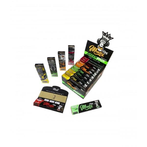 Papel Green king size + Tips - Monkey King - 1