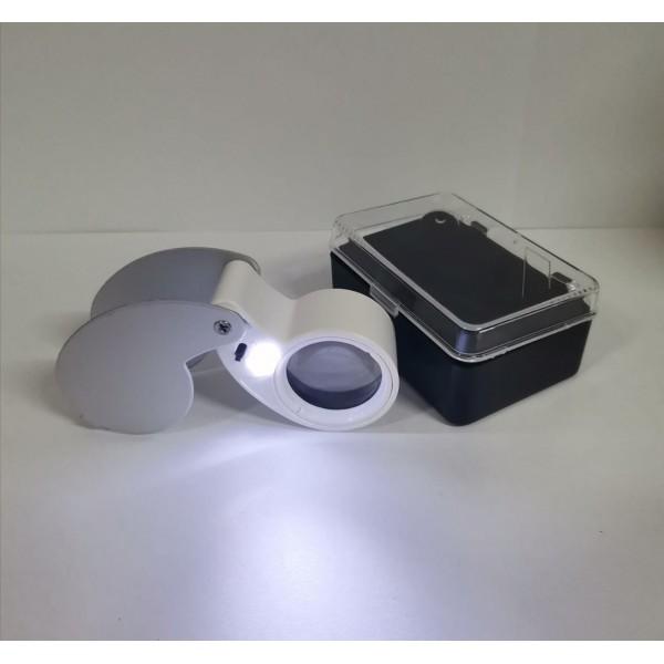 Lupa 40x-25mm - Tricomar - 1