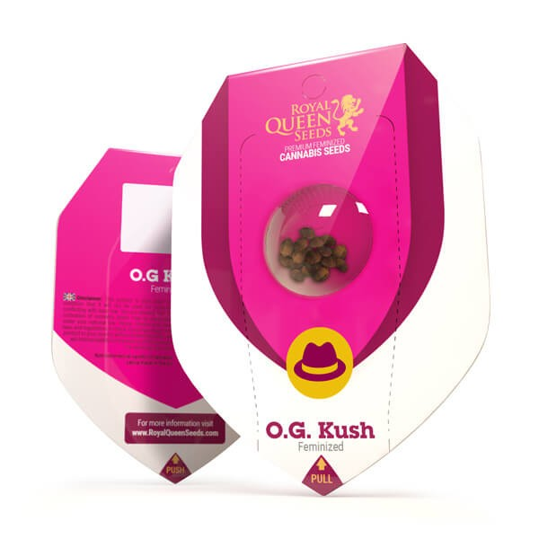 O.G Kush (x10)- Royal Queen Seeds - 1