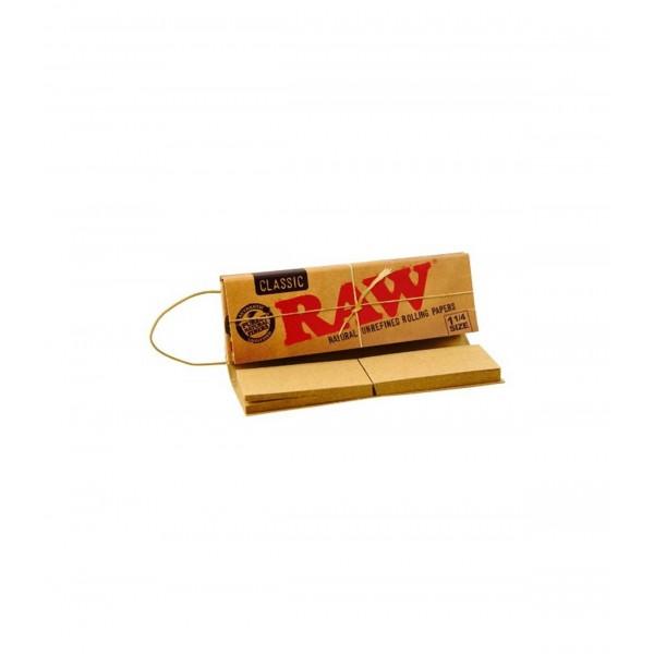 Papel de Enrolar Connoisseur 1 1/4 + Tips  - RAW - 1