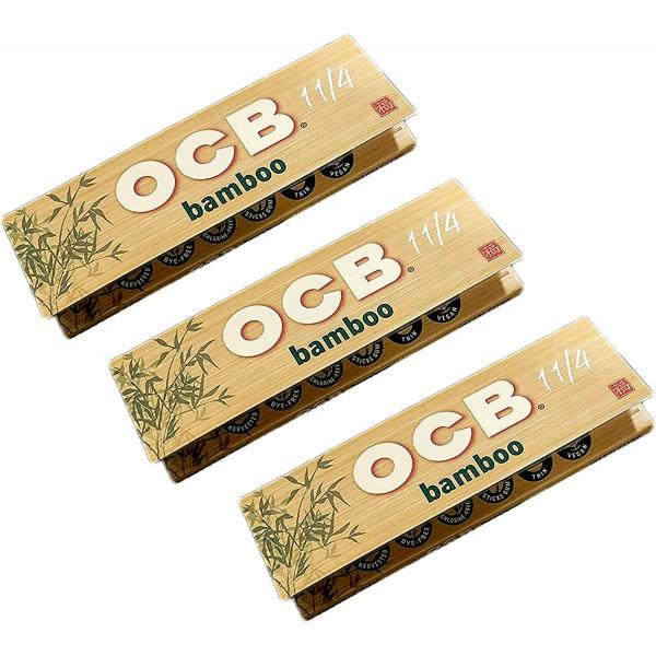 Papel Enrolar Bamboo 1 1/4 - OCB - 1