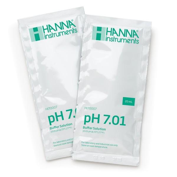 Calibrador pH 7.01 Líquido 20ml - Hanna - 1