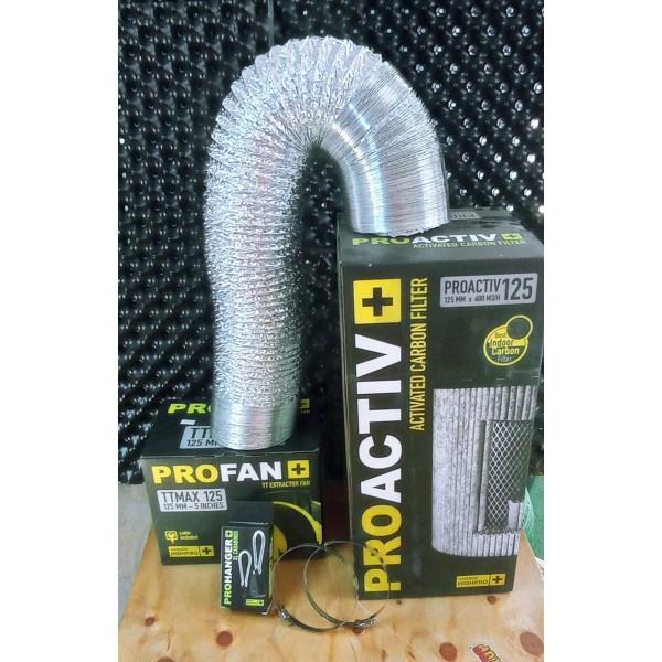 """Kit Control de Olor 125mm 5"""" - Tricomar - 1"""