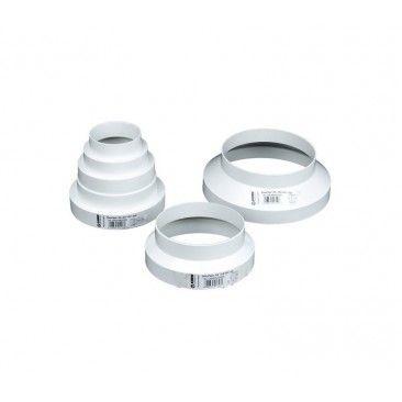 Acople Reducción Plástico 80-150Mm - Blauberg - 1